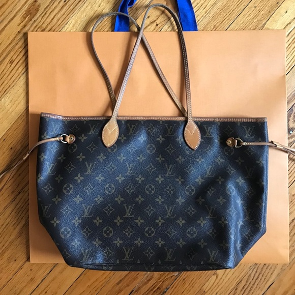 Louis Vuitton Handbags - Authentic Louis Vuitton Neverfull MM Monogram